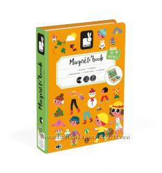 Janod Magnetibook 4 Seasons Магнитная игра Времена Года. Супер качество