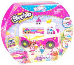 Большой набор Волшебные бусины Шопкинс Beados Shopkins Ice Cream Truck