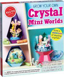 Набор для создания мини-миров Klutz Grow Your Own Crystal Mini Worlds