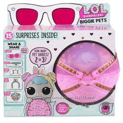 Большой питомец L. O. L. Surprise Biggie Pet Hop Hop ЛОЛ Зайчик MGA