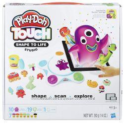 Оживающий набор-студия создай свой мир Play-Doh Touch Shape to Life Studio