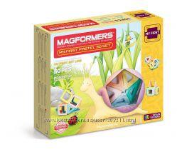 Магнитный конструктор Магформерс Magformers My First Pastel Set на 30 дет