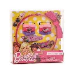 Набор для волос Барби резинки, заколки, обруч Barbie