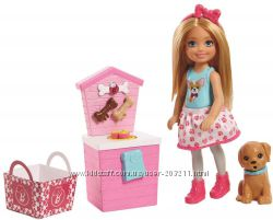 Кукла Челси и стенд с кормом для собак Chelsea Doll and Puppy Food Stand