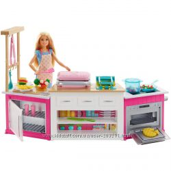 Кухня с куклой Барби Barbie Ultimate Kitchen Mattel