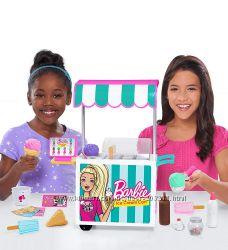 Большая тележка для мороженного Барби Barbie Ice Cream Cart Set