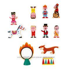 Деревянный набор JANOD Маленькие истории. Цирк