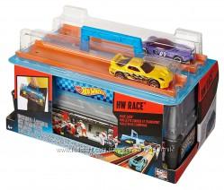 Трек Хот Вилс переносной бокс Hot Wheels Race Case Track Set