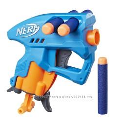 Бластер Нерф Нанофайр Хасбро Hasbro Nerf N-Strike NanoFire blue