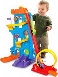Fisher-Price Парк Развлечений Little People Loops n Swoops Amusement Park
