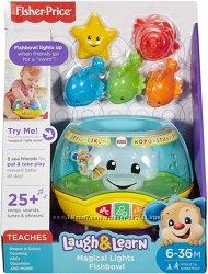 Fisher-Price веселый аквариум Laugh & Learn Magical Lights Fishbowl