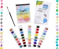 Акварельный набор Крайола Crayola Deluxe Watercolor Kit