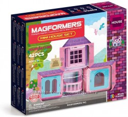 Магнитный конструктор Magformers Mini House Set 42 детали Магформерс