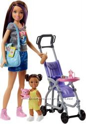 Барби Скиппер няня Прогулка Barbie Skipper Babysitters Inc. Stroller Doll