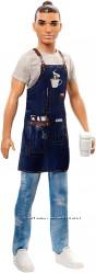 Barbie Careers Ken Barista Doll Кукла Кен бариста