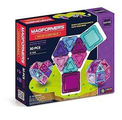 Магнитный конструктор Магформерс 30 деталей Magformers Inspire Clear