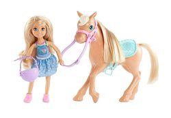 Набор Барби Клуб Челси и лошадка Barbie Club Chelsea Doll & Horse
