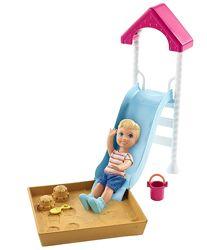 Barbie Skipper Babysitters Inc. Playground Барби Скиппер Детская площадка