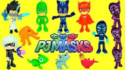 Набор мини-фигурок Делюкс Супергерои в масках PJ Masks Friends Deluxe