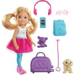 Кукла Барби Челси путешественница Barbie Travel Chelsea Doll