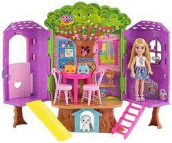 Домик на дереве Челси Barbie Club Chelsea Treehouse House Playset