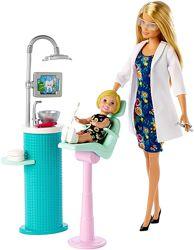 Барби я могу быть стоматолог 2019 Careers Barbie Dentist Doll & Playset