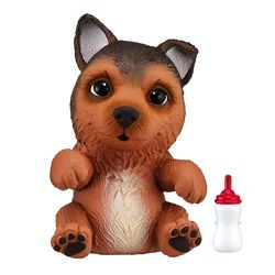 OMG Pets Soft Squishy Puppy интерактивная собачка сквиш, немецкая овчарка