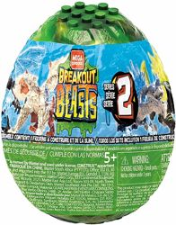 Mega Construx Breakout Beasts Дикие Звери в яйцах со слаймом