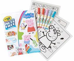 Набор для маленьких Крайола Свинка Пеппа Crayola Color Wonder Peppa Pig