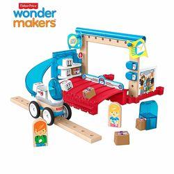 Конструктор Fisher-Price Wonder Makers Design System Special Delivery Depot