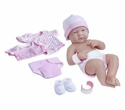 Реалистичный пупс La Newborn Nursery 8 Piece Layette Baby Doll Gift Set