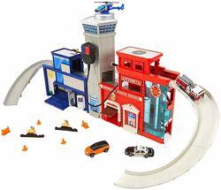 Пожарная и Полицейская станция Метчбокс интер. Matchbox Rescue Headquarters