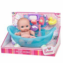 Пупс с ванночкой JC Toys Designed by Berenguer Bath single