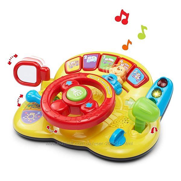 VTech Музыкальный руль Turn and Learn Driver. Поворачивай и Учись.