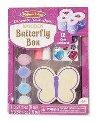 Шкатулка - Бабочка оформительский набор Melissa & Doug Butterfly Box