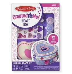 Шкатулка - Сердце оформительский набор Melissa & Doug Heart Box
