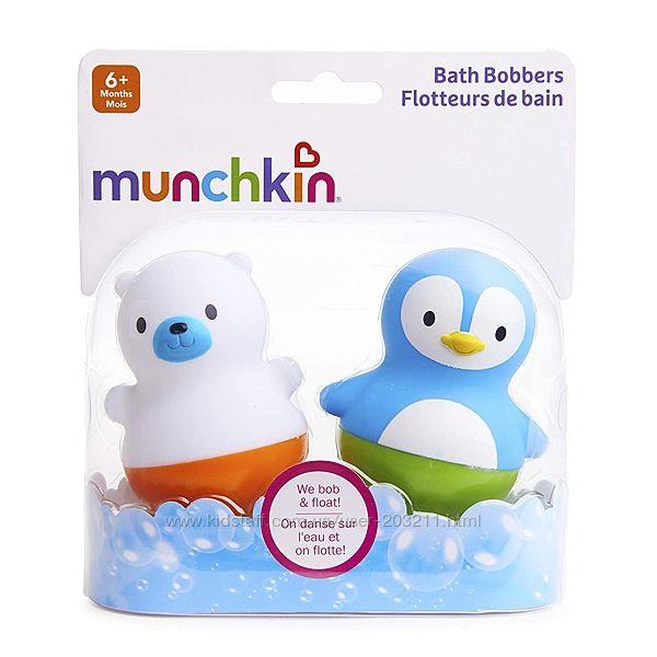Munchkin игрушки для ванны поплавки Медведь и Пингвин Bath Bobbers от 6 мес