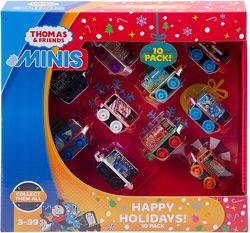 Fisher-Price Thomas & Friends MINIS Themed 10 шт Томас и друзья