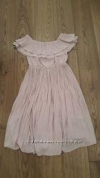 Платье H&M 36 размера пудрового цвета