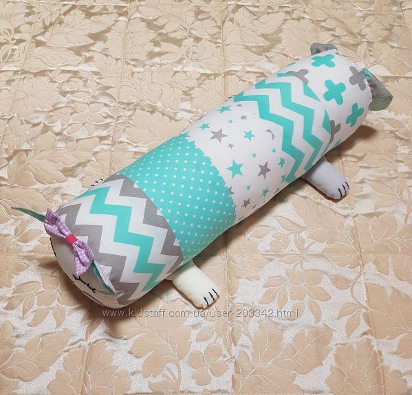 Подушка-валик-позиционер для новорожденного Кот-Пес 1fd3e8415b7a0