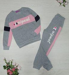 Утепленный спортивный костюм для девочек Active Sport 134-164 р. р. , Венгр