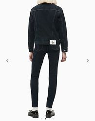 Шерпа джинсовая куртка Calvin Klein