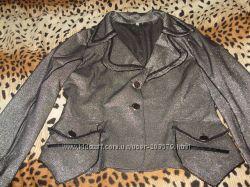 пиджак люрексовый- нарядний