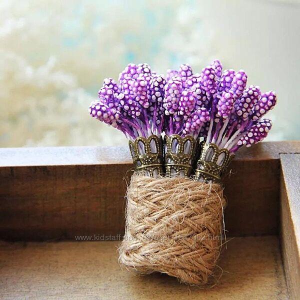 Нежная брошь лаванда, цветок, букет