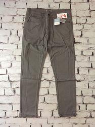 Джинсы стрейчевые штаны серые брюки размер 38