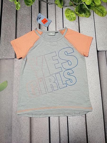Спортивна футболка для дівчинки сіра поліестр