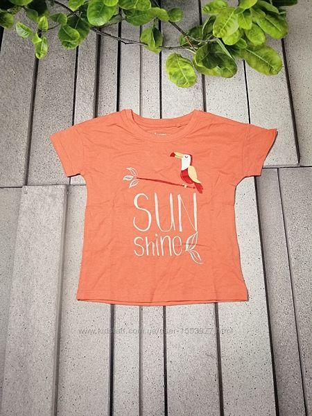 Модна дівчача повсякденна футболка з бавовни