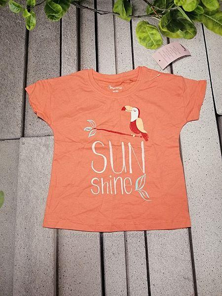 Повсякденна літня футболка для дівчаток
