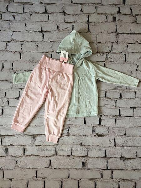 Набір костюм велюр штани кофта для дівчинки
