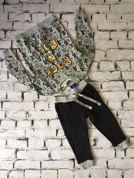 Костюм детский набор штаны и свитшот оверсайз костюмчик комплект